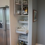 Hafele Studio Pantry Unit with Pantry Pull-Out
