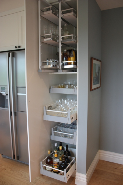 Hafele Studio Pantry Unit with Pantry PullOut Ryans Kitchens