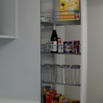 Hafele Pantry Unit with Hafele Accessories