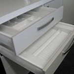 Hafele Plastic Cutlery Insert and Spice Drawer Insert