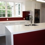 Gloss Alabaster Lacquer Kitchen
